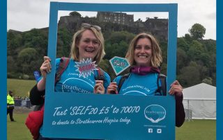 Team Moirs support Strathcarron