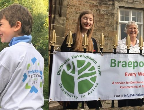STIRLING TO HOST SCOTLAND'S FIRST FESTIVAL OF VOLUNTEERING