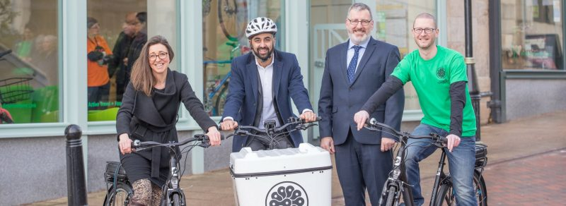 Launch of Falkirk Active Travel Hub
