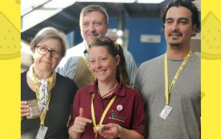 Producers and staff at Stirling Food Assembly