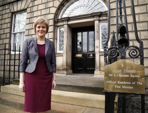 FIRST MINISTER BACKS STIRLING'S BID