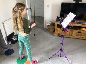 Catrin Gilchrist Big Noise Raploch
