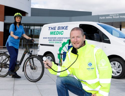 BIKE MEDICS TO THE RESCUE: CHARITY LAUNCHES FREE ROADSIDE REPAIR SERVICE FOR NHS