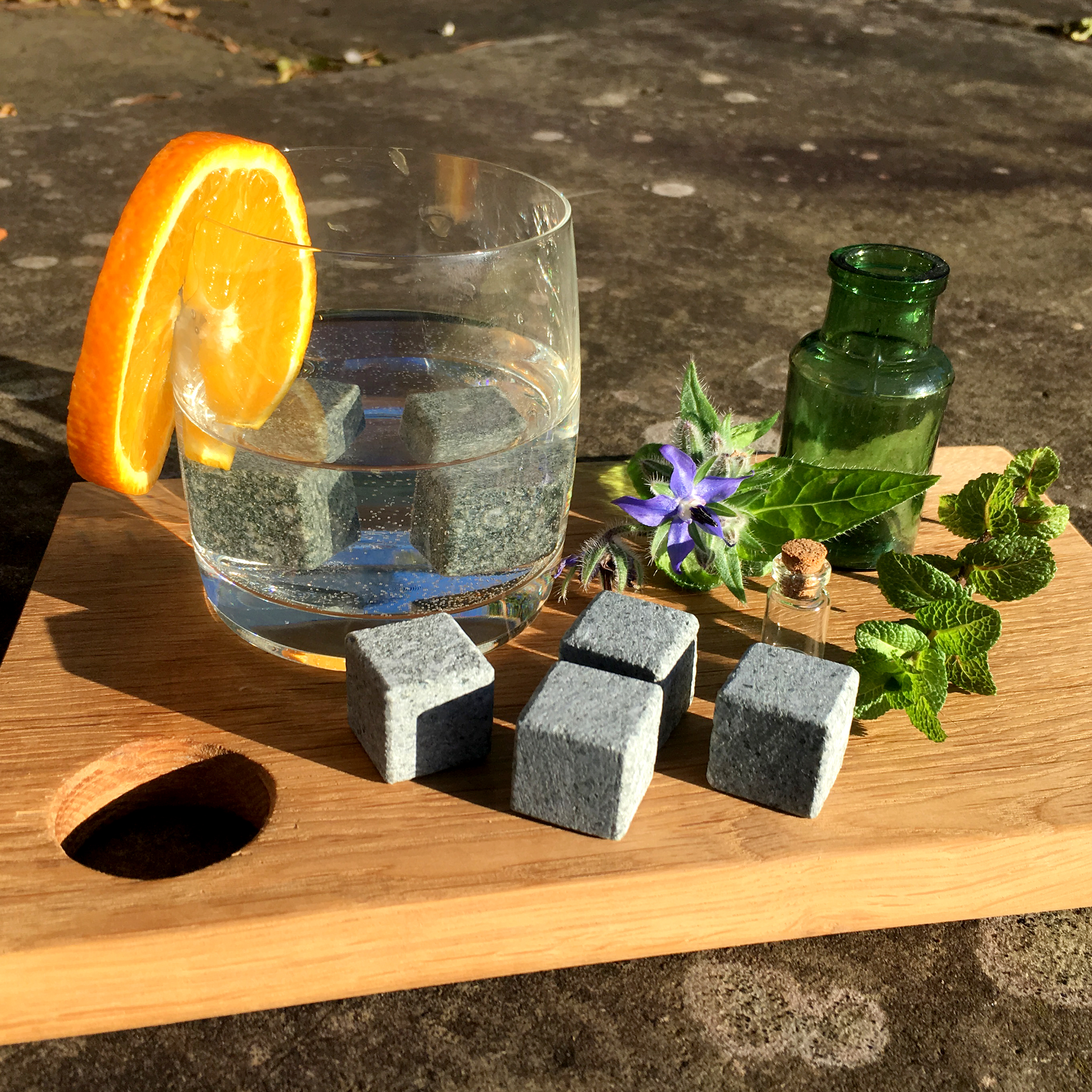 Modern Stone Age gin and whisky stones