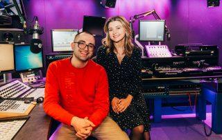 BBC Radio 1 DJs Fat and Kathyrn